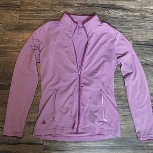 Women's Adidas Climalite Zip Up